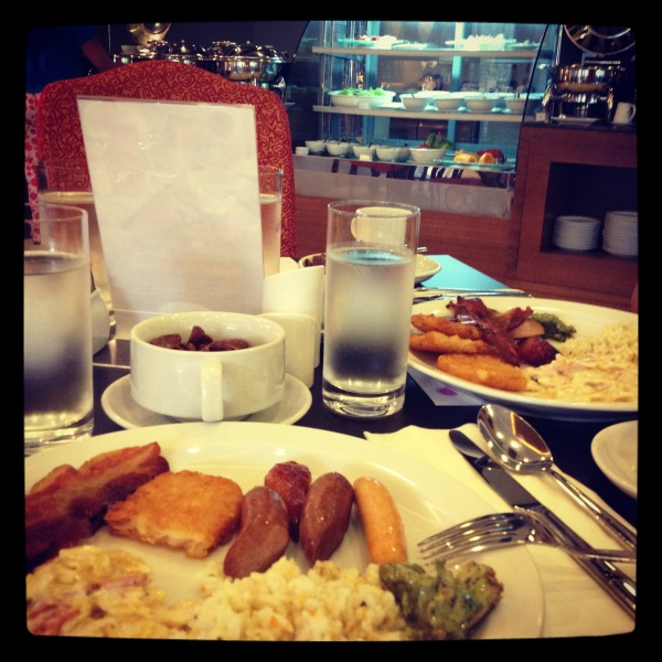 Breakfast Buffet at Centara Hotel, Manila