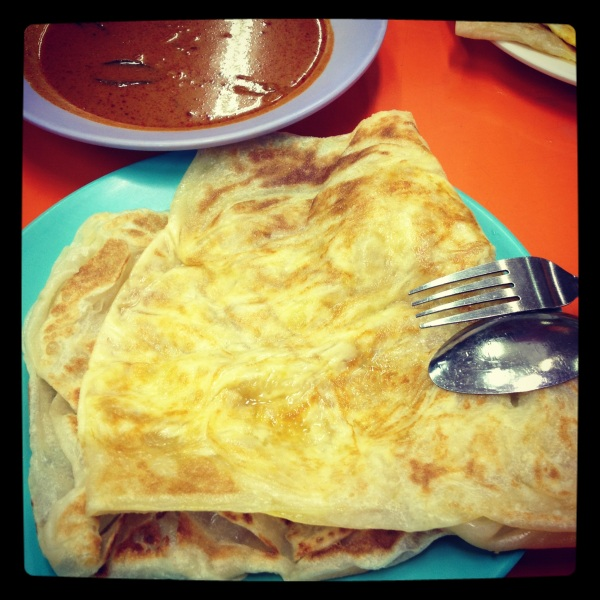 Roti Prata at Alif Restaurant, Bukit Batok, Singapore