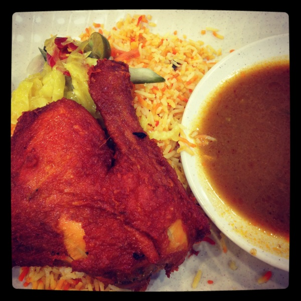 Chicken Briyani at Alif Restaurant, Bukit Batok, SIngapore