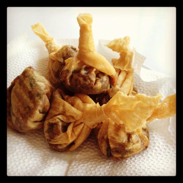 """Sipa"" or Wok Inn's version of fried dimsum (Malate, Manila)"