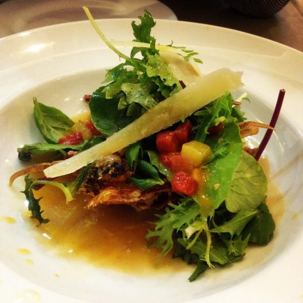 Oriental Salad with Parmesan (Real Food)
