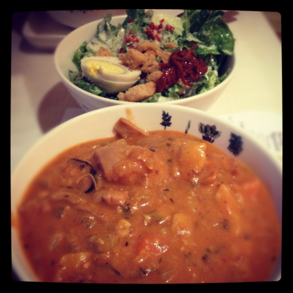 Soup and salad (Soup Spoon)